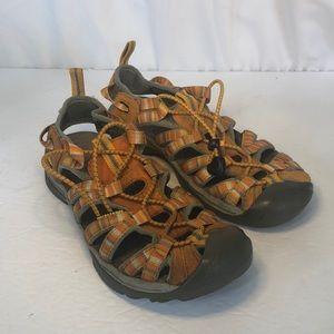 Keen Orange Water Shoes Sandals 7.5 Womens